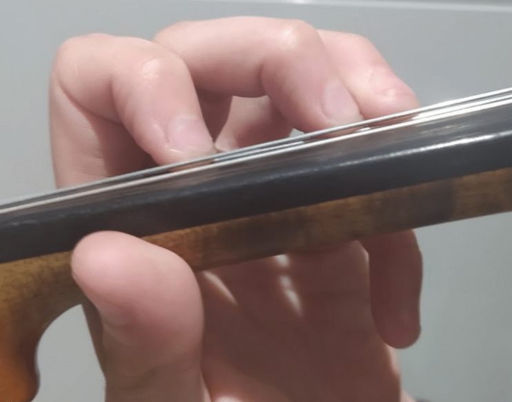 Violin Finger Placement – High And Low Seconds And Thirds